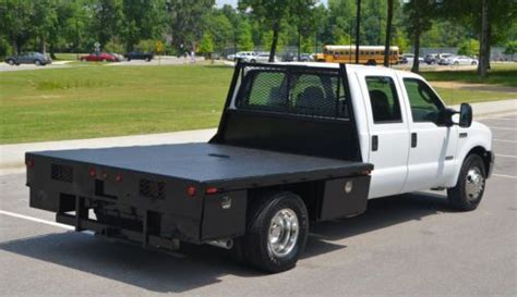 purchase   ford super duty  crew cab flat bed