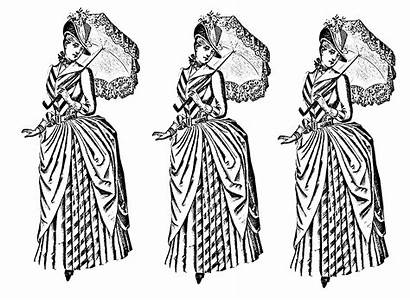 Coloring Pages Adults Clothing Adult 20th Century