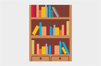 Clipart Bookshelf Bookcase Transparent