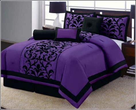purple size comforter purple bedding size wooden global