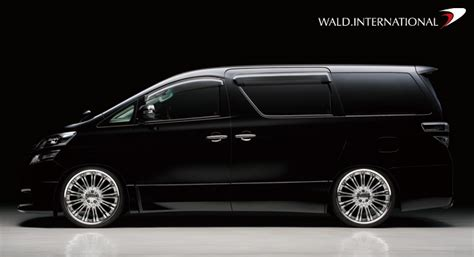 Toyota Vellfire Modification by Wald International Releases Toyota Vellfire Z Grade
