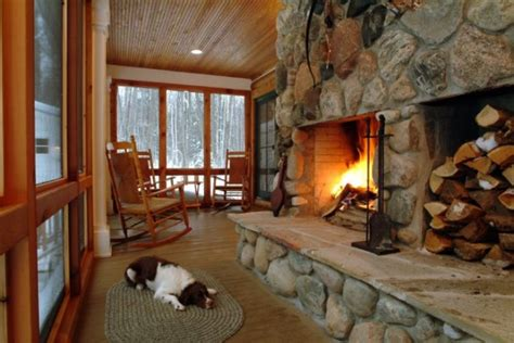 dogs for fireplaces josie s cabin a cozy family retreat home design garden