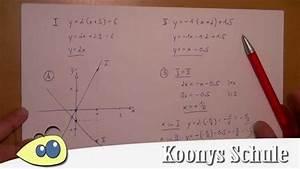 Schnittpunkt Berechnen Quadratische Funktion : bung geraden einzeichnen in normalform bringen schnittpunkt berechnen lineare funktionen ~ Themetempest.com Abrechnung