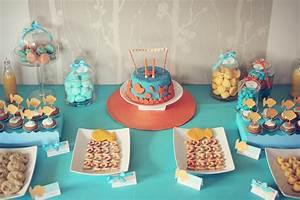 Idée Déco Table Anniversaire : decoration de table anniversaire 1 an ~ Melissatoandfro.com Idées de Décoration