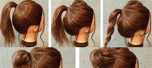 Easy Ways To Make Wars Hair Dos super easy messy bun in 5 simple steps makeup mania, 10 easy