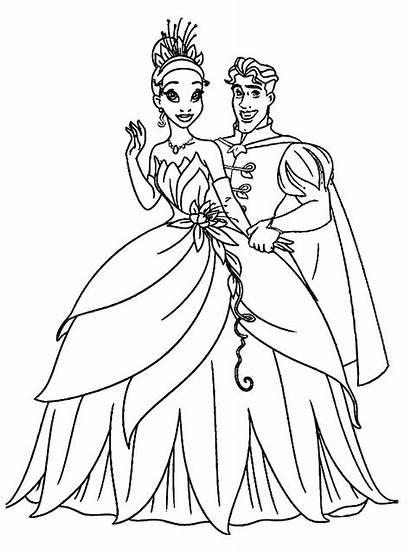 Coloring Princess Pages Pdf Getcolorings Printable Princes