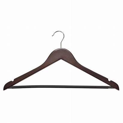 Hangers Wood Cherry Hanger Wooden Rack Suit