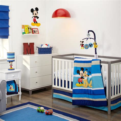 Mickey Mouse Crib Bedding Sets by Mickey Mouse Crib Bedding Set Disney Baby