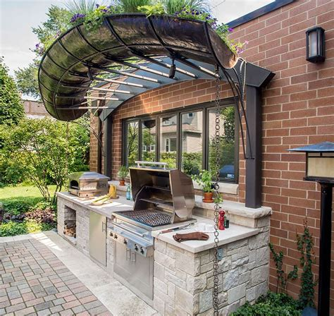custom outdoor kitchen designs if you are looking for the most optimal small outdoor 6402