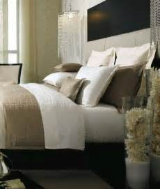 Taupe Silk Curtains by Decorative Coral Contemporary Bedroom Kelly Hoppen