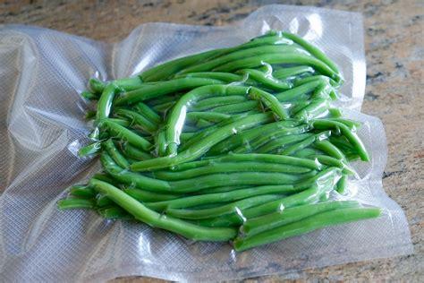 haricots verts cuisin駸 conserver les haricots verts sous vide technique culinaire par chef simon