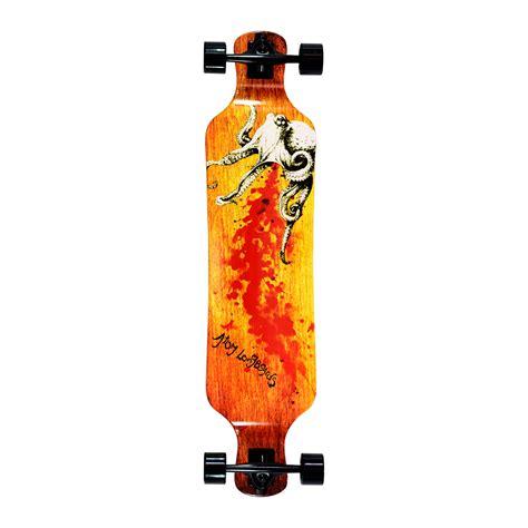 Atom 39 Drop Deck Longboard Artisan Brown by Atom 39 Quot Drop Deck Longboard Octopus Longboard Ee