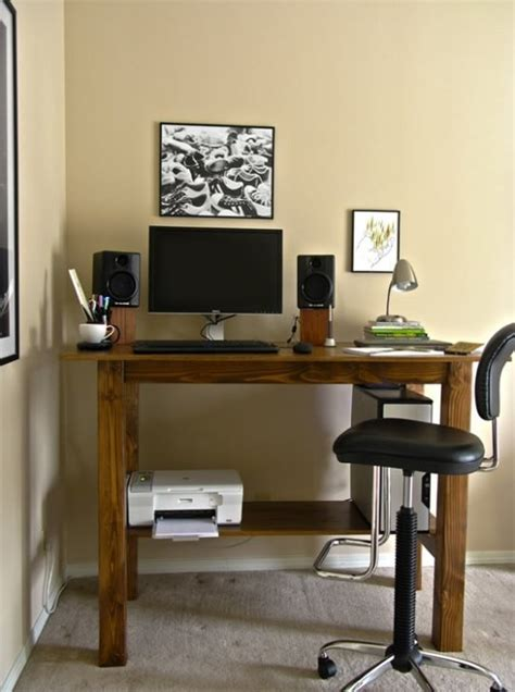 build your own adjustable standing desk build your own stand up desk from recycled wood homesfeed