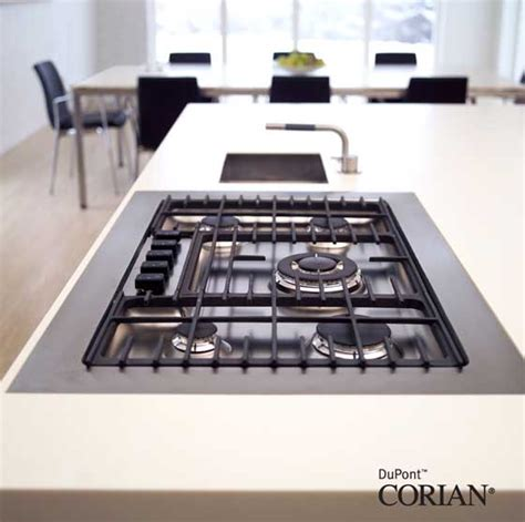 Corian Countertops Heat Resistant by Beautiful Practical Kitchen Design Dupont Corian 174 S