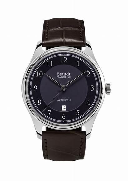 Staudt Praeludium Brown Twenthe Uhren Collectie Midnight
