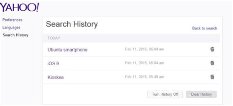 How to Clear Your Search History on Yahoo Search - CCM