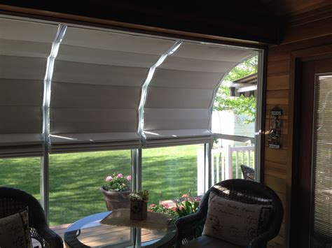 Sunroom Shades by Our Sunroom Shades Offer Easy Do It Yourself Installation