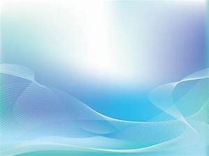 Silver Blue Lights Wave Powerpoint Templates - Abstract ...