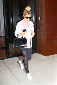 hailey baldwin  tights    york gotceleb