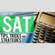 Sat Math Tips, Tricks And Strategies  Part I Youtube