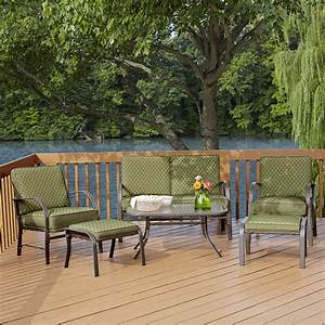 Garden Oasis Shoal Creek 6pc Cushion Seating Set