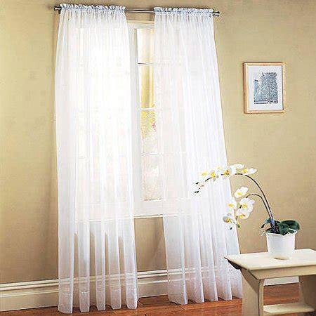 walmart sheer curtains mainstays marjorie sheer voile curtain panel walmart