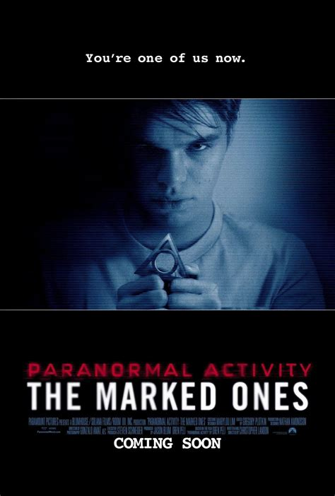 paranormal activity marked ones dvd movie poster date release film posters movies katie jesse released