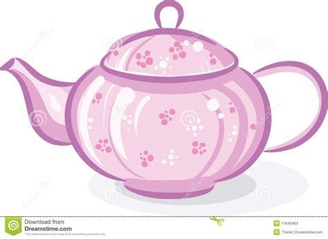 Pink teapot stock vector. Image of teapot, breakfast   11640463