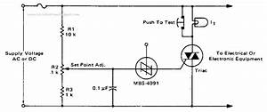 Best Electronic Crowbar Circuit Diagram For Ac Or Dc Lines