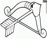 Cupid Cupido Arco Coloring Flecha Arrow Bow Boog Printable Colorir Pijl Colorare Freccia Flechas Colorear Desenhos Sheets Oncoloring Dibujos San sketch template