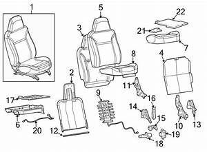 Gmc Canyon Seat Cover  Front   Bucket Seats  W  O