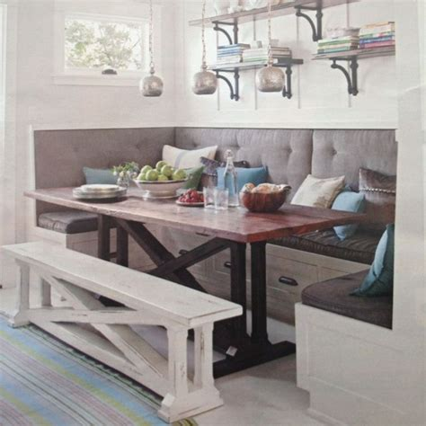 Kitchen Bench For Seating by 17 Best Ideas About Kitchen Bench Seating On