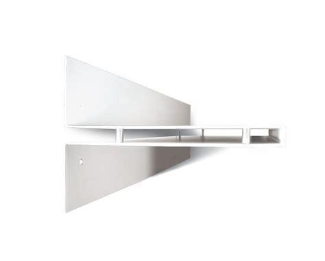 Mensola Moderna by Mensola Moderna A Muro In Acciaio 100 Cm Bianco Nero