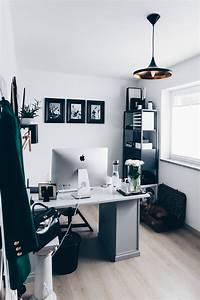 Büro Zuhause Einrichten : arbeitsplatz zuhause einrichten 5 ideen f r mehr stil im blogger home office home office ~ Frokenaadalensverden.com Haus und Dekorationen
