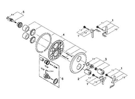 Parts for Grohe Atrio Series Designer Kitchen & Bathroom
