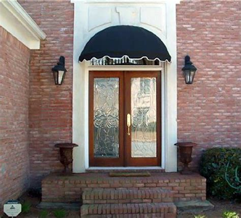 dome style window awning  door canopy  wide  sunbrella awning fabric navy blue dome http