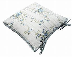 Chair cushion covers with ties kitchen chair seat pad for Chair cushion covers with ties