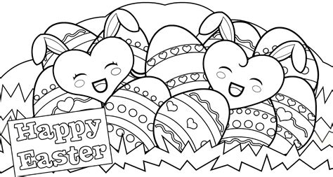 easter coloring sheets holiday coloring pages