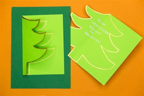 weihnachtskarten selbst basteln mit video land oesterreich meinbezirkat