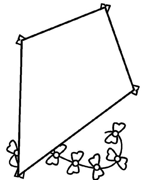 kite decorating spring coloring pages coloring pages