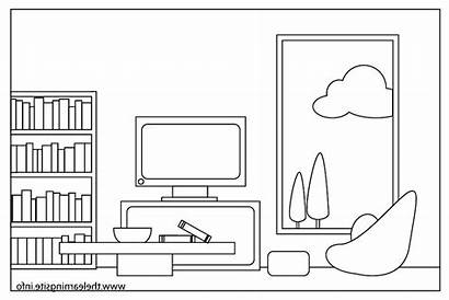 Clipart Clean Living Table Cliparts Clip Chair