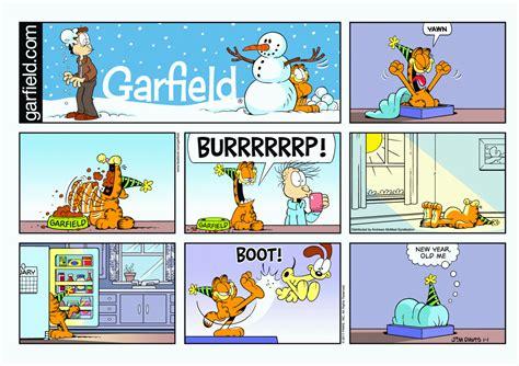 Garfield, January 2017 Comic Strips