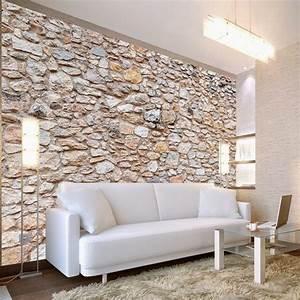 Les 4 Murs Bordeaux : papier peint imitation pierres d co murale pas cher ~ Zukunftsfamilie.com Idées de Décoration