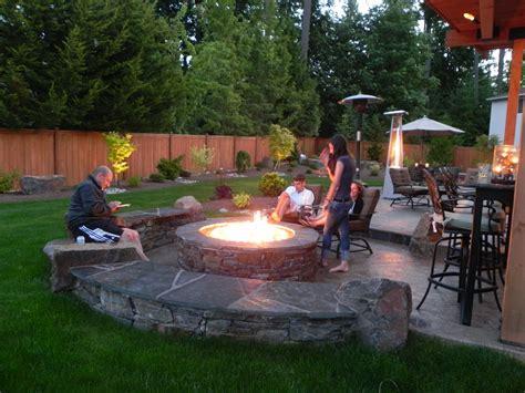 Garden Design With Backyard Fire Pit Ideas Best On Outdoor