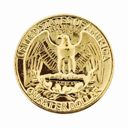 Dollar Gold Plated Coin Quarter 1950 1998