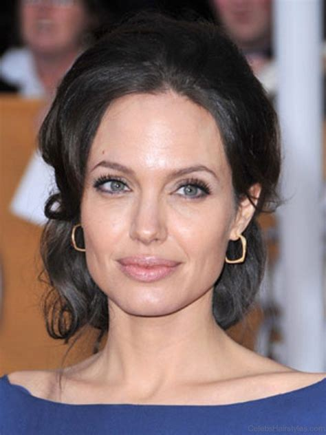 perfect hairstyles  angelina jolie