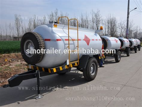 Iso Certification And Semi-trailer Type Small Fuel Tank