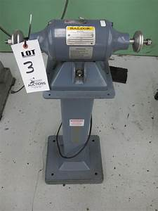 Baldor Buffer  Catalog Number 111  1  3 Hp  115 Volts  3600 Rpm