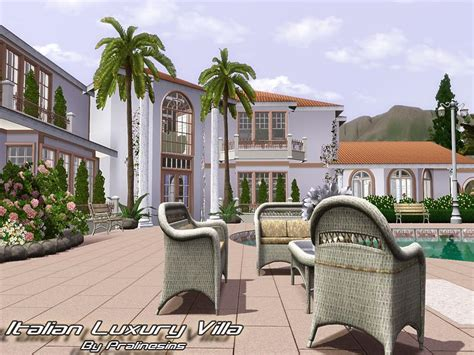 decorative sims luxury homes pralinesims italian luxury villa