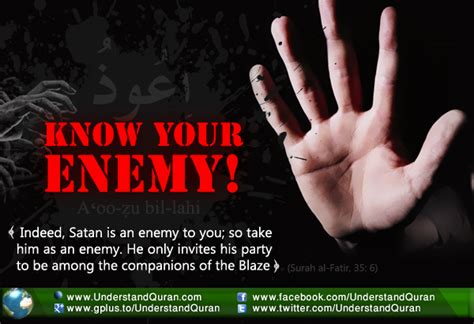 Know Your Enemy! - Understand Al-Qur'an Academy